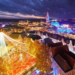冬はハウステンボスのイルミネーションで感動の夜を!世界最大1300万球が輝く光の王国へ