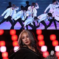 平昌五輪閉会式、EXO&CLが圧巻の生パフォーマンス