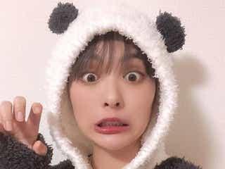 内田理央、もこもこのパンダ姿に「可愛すぎ」「最強」の声続出