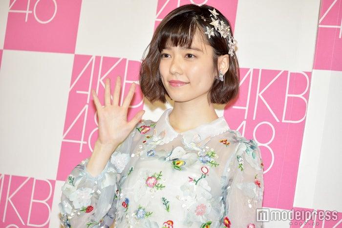 「キャバすか学園」にゲスト出演した島崎遥香(C)モデルプレス