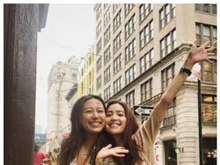 里田まい&中村アン、NYで再会 キュートな2ショットに「いい顔してる」「姉妹みたい」と反響