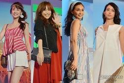 蛯原友里、押切もえ、山本美月、松島花らが美の共演 華やかステージで魅了<写真特集>