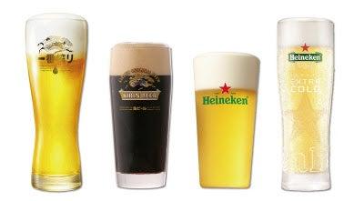 飲み放題メニューでは、ビール4種が勢ぞろい(提供写真)