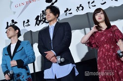(左から)菅田将暉、小栗旬、橋本環奈 (C)モデルプレス