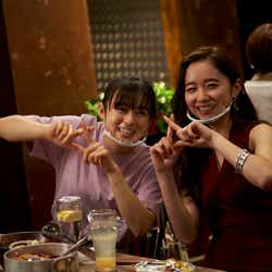 森七菜、堀田真由(C)2021『ライアー×ライアー』製作委員会(C)金田一蓮十郎/講談社
