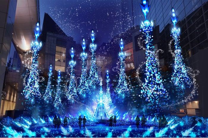 Caretta Illumination 2018※画像はイメージ/画像提供:カレッタ汐留