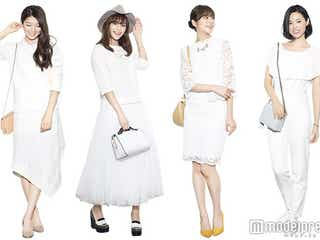 確実に可愛くなれる白ファッション着こなし術発表