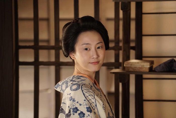 時代劇に初出演する松井玲奈(C)NHK