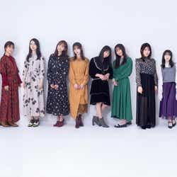 """モデルプレス - 乃木坂46・2期生、個性あふれる""""グラビア九重奏""""で魅了"""