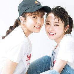欅坂46今泉佑唯&小林由依、揃って女性誌初登場 仲良しオソロなヘアアレンジ