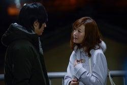 塚本高史、松本まりか/「ホリデイラブ」第2話より(C)テレビ朝日