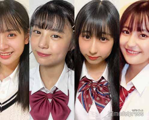 【中間速報】「JCミスコン2021」西日本Bブロック、暫定上位4人を発表<日本一かわいい中学生>