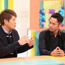 (左から)ヒロミ、高橋大輔(C)フジテレビ