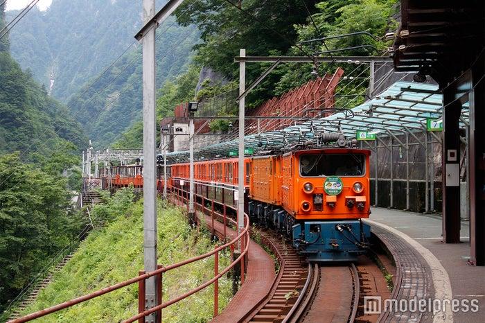 トロッコ列車(C)モデルプレス