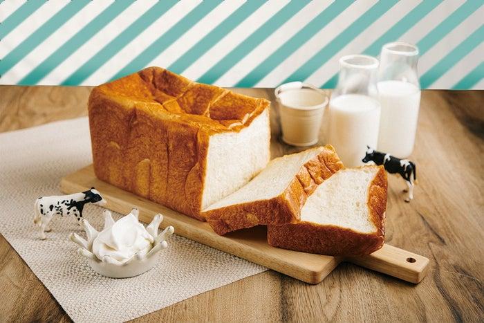 ミルクの生クリーム食パン2斤 980円(税込)/画像提供:オペレーションファクトリー