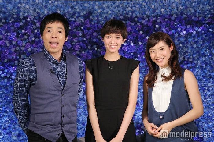 (左から)今田耕司、佐藤栞里、瀧本美織/画像提供:日本テレビ