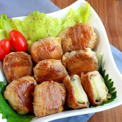 とろ~り美味しい!茄子・餅・チーズの豚バラ巻きレシピ