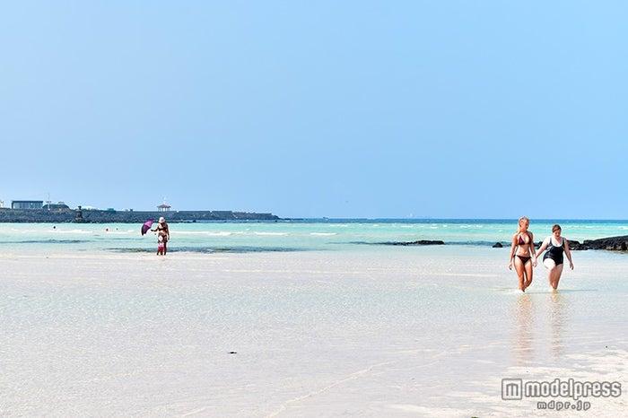 チェジュ島のビーチ(C)モデルプレス
