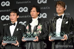 草なぎ剛、稲垣吾郎、香取慎吾 (C)モデルプレス