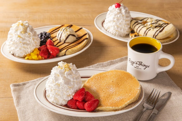 Pancake for One ~お一人さまパンケーキ~/画像提供:Eggs'n Things Japan