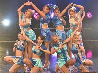 CYBERJAPAN DANCERS、美ボディ大胆披露SEXY衣装で沸かす 4年連続「TIF」出演