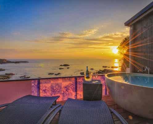 和歌山「XYZリゾートスペチアーレLimited12」海一望の客室露天風呂付き温泉宿