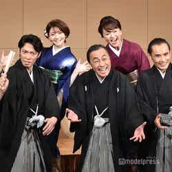(後列左から)小林麻耶、菅原りこ、あめくみちこ、鈴木杏樹(前列左から)辰巳雄大、佐藤B作、片岡鶴太郎 (C)モデルプレス