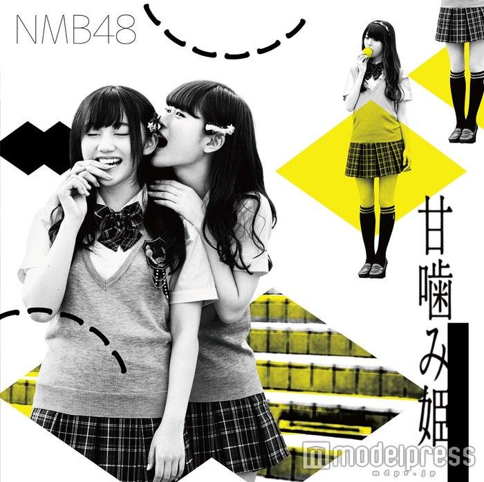 薮下柊、渋谷凪咲/NMB48、14thシングル「甘噛み姫」劇場盤(4月27日発売)<br>