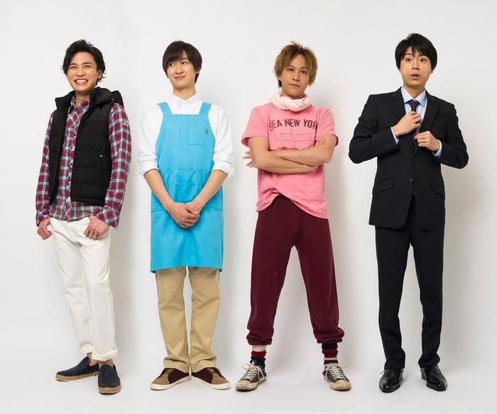 (左から)二階堂高嗣、宮田俊哉、千賀健永、横尾渉(C)NTV.JS