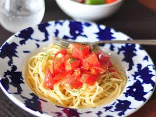 暑い夏のお助けごはん フレッシュトマトの冷静パスタ