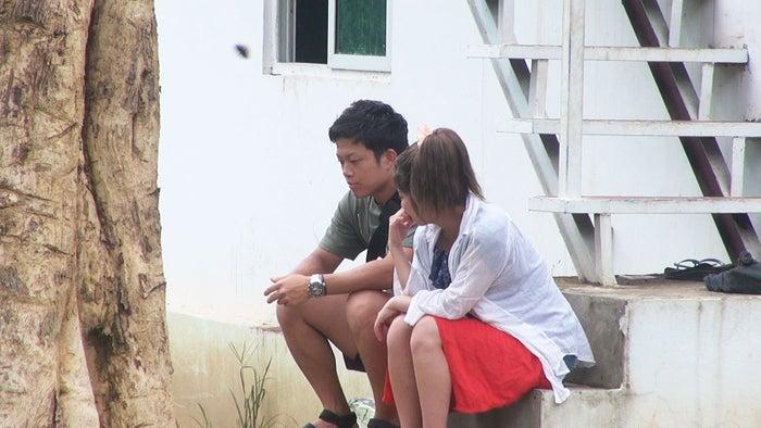 裕ちゃん、でっぱりん/「あいのり:Asian Journey」第5話より(C)フジテレビ