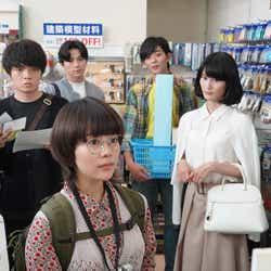 (左から)高畑充希、岡山天音、新田真剣佑、竜星涼、橋本愛(C)日本テレビ