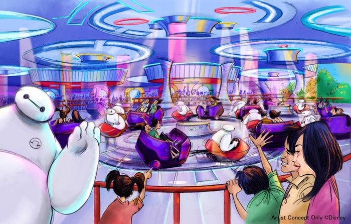 『ベイマックス』をテーマにしたアトラクション※写真はイメージ(C)Disney