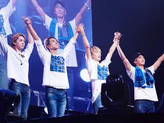 WINNER、日本ツアー感動のファイナル 客席でファンに神対応&MCが胸打つ「心が複雑です…」<ライブレポ/セットリスト>