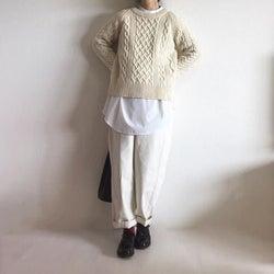 こなれ感満載【白シャツのチラ見せコーデ】9選|Tシャツよりもきれいめ!