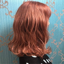 オレンジ系の髪色で今っぽアクティブな印象に♡イメチェンしよ!
