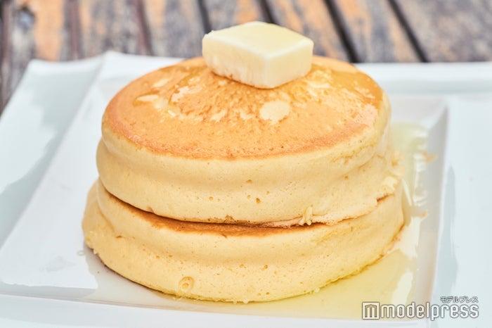 厚で旨みとコクがある、産みたて「天美卵」をたっぷり使ったパンケーキが自慢 (C)モデルプレス