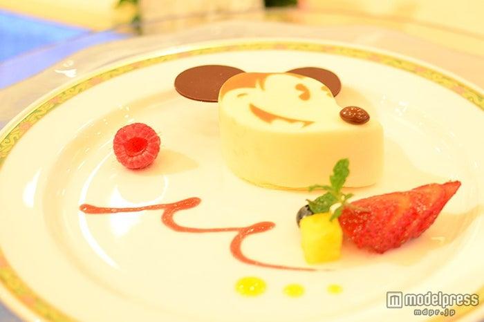 ミッキーモチーフのデザート