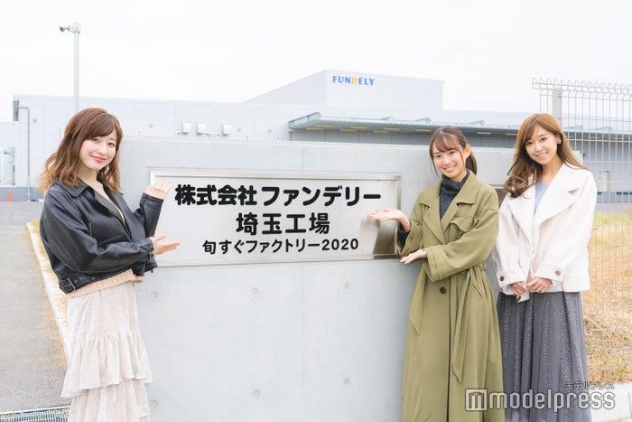 (左から)水野佐彩さん、保坂玲奈さん、池田るりさん(C)モデルプレス