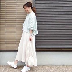 2019春の人気者《白いプリーツスカート》の着回し術|可愛い系から大人コーデまで楽しめます!