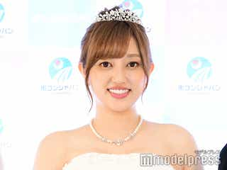 """菊地亜美、純白ウエディングドレス姿披露 """"最高に幸せだった""""新婚旅行を振り返る"""