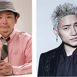 (左から)鈴木おさむ、小森隼(提供写真)