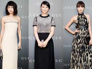 武井咲、長谷川京子、ヨンアらがドレスアップ 「GUCCI」チャリティーガラディナーに来場