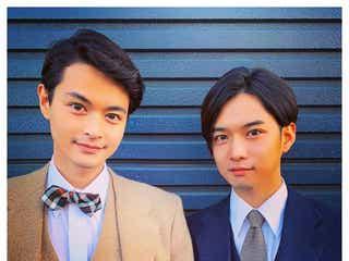 瀬戸康史&千葉雄大、2ショットに反響「顔似てる」「本当の兄弟みたい」