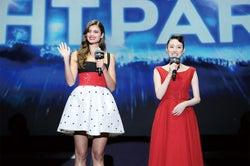 テイラー・ヒル&栗山千明が豪華共演 常識を覆すUSJ新パレードに「世界最高!」と興奮