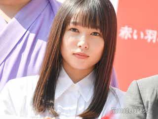 桜井日奈子、街頭募金を呼びかけ ファンに笑顔で対応