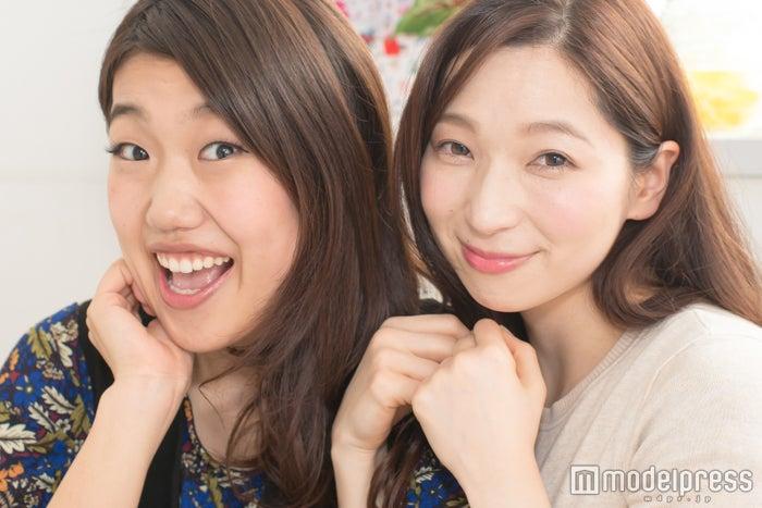横澤夏子×鶴愛佳、バチェラー対談が実現! (左から)横澤夏子、鶴愛佳(C)モデルプレス