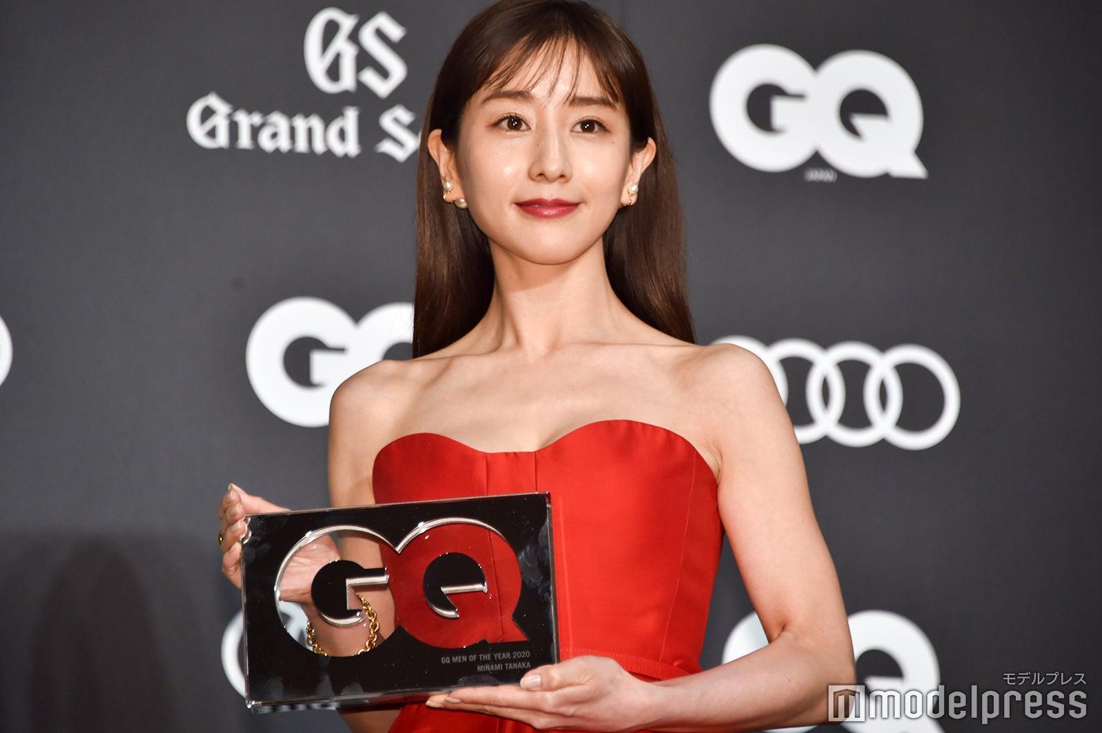 田中みな実、女優としての願望告白「エキセントリックな役柄が多いので…」<GQ MEN OF THE YEAR 2020>