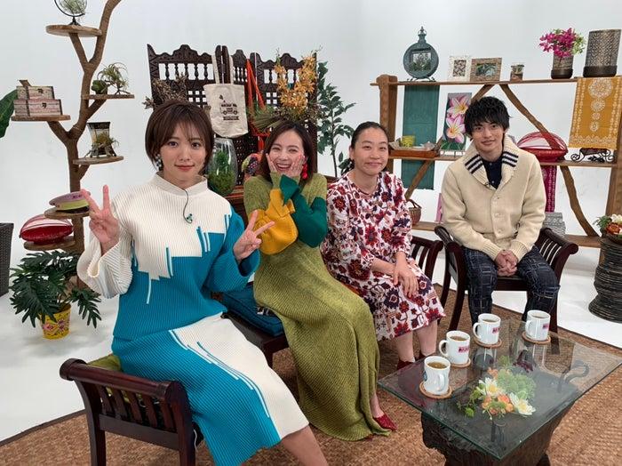 夏菜、ベッキー、いとうあさこ、平田雄也(C)フジテレビ