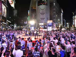 渋谷がパニック!?3万4千人が踊る「渋谷盆踊り大会」初開催